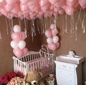 Купить шары под потолок с доставкой в Москве