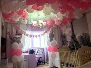 Заказать шары под потолок недорого